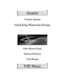 King Wenceslas Swings: For easy clarinet quartet by Thomas Helmore