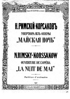 May Night: Overture by Nikolai Rimsky-Korsakov
