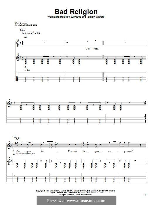 Bad Religion (Godsmack): Bad Religion (Godsmack) by Sully Erna, Tommy Stewart