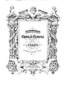 Iphigenia in Tauris, Wq.46: Piano score by Christoph Willibald Gluck