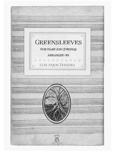 Greensleeves: For harp and strings by folklore