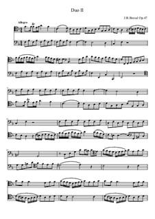 Cello Duo No.2: Cello Duo No.2 by Jean-Baptiste Bréval