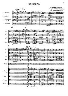 Скерцо: Скерцо by Sergei Rachmaninoff