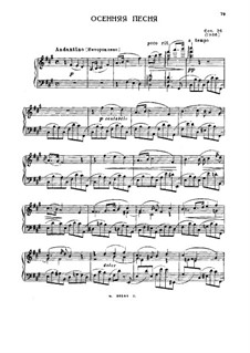 Selected Works for Piano: Book I, Movement II by Sergei Lyapunov