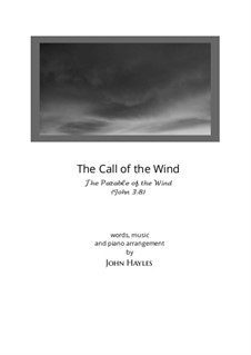 Song of the Parable of the Wind (The Call of the Wind): Song of the Parable of the Wind (The Call of the Wind) by John Hayles