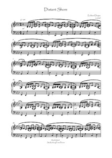Rock Island Six Rocking Piano Pieces: Nr.1 Distant Shore by Eckhard Deppe