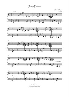 Rock Island Six Rocking Piano Pieces: Nr.6 Damp Forest by Eckhard Deppe
