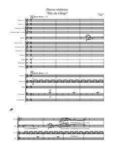 Danza sinfonica 'Fête du village': Danza sinfonica 'Fête du village' by Giuseppe Di Leo