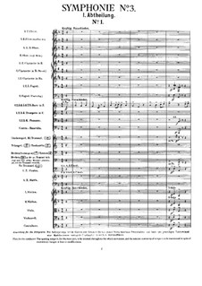 Symphony No.3 in D Minor: Full score by Gustav Mahler