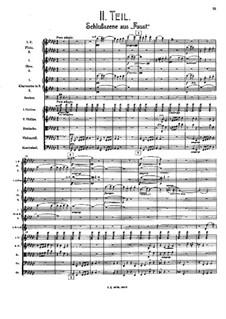 Symphony No.8 in E Flat Major: Movement II – score by Gustav Mahler