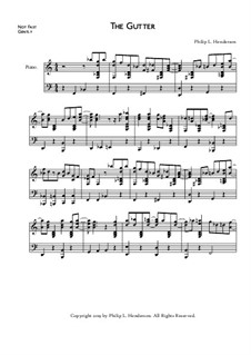 The Gutter, Op.40: The Gutter by Philip Henderson