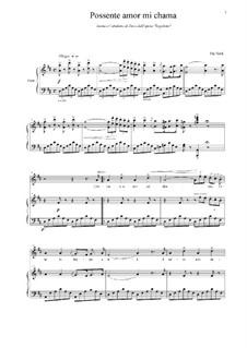 Fragments: Possente amor mi chama... Scena e Cabaletta di Duca by Giuseppe Verdi