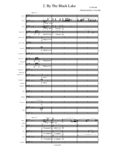 From the Bohemian Forest, B.133 Op.68: No.2 By the Black Lake, for symphonic orchestra by Antonín Dvořák