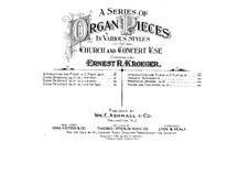 Scenes Orientale, Op.37: Complete set by Ernest Richard Kroeger