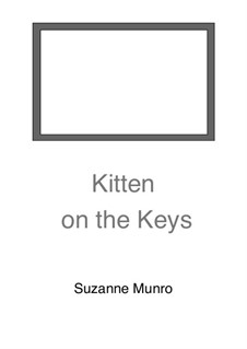 Kitten on the Keys: Kitten on the Keys by Suzanne Munro