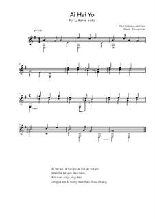 Ai Hai Yo: Ai Hai Yo by folklore