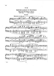 Bal costumé, Op.103: No.15-18 by Anton Rubinstein
