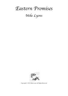Eastern Promises – String Trio: Eastern Promises – String Trio by Mike Lyons