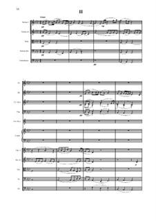 Симфония No.9 для малого симфонического оркестра в 4 частях: 2 часть - партитура by Vladimir Polionny