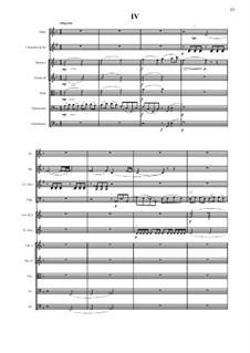 Симфония No.9 для малого симфонического оркестра в 4 частях: 4 часть - партитура by Vladimir Polionny