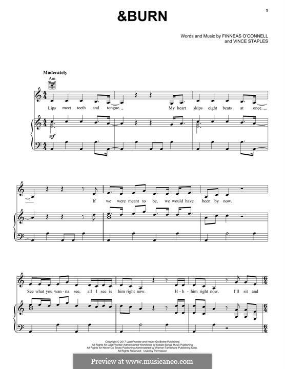 &Burn (Billie Eilish): &Burn (Billie Eilish) by Billie Eilish, Vince Staples