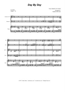 Day by Day: For woodwind quartet and piano by Oscar Ahnfelt