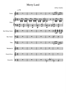 Merry Land: For large ensemble by Jeffrey Cumber