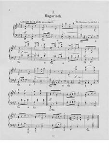 Aus meinem Skizzenbuch, Op.29: Complete set by Theodor Kirchner