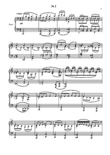 24 preludies and fugues for piano: No.2 by Vladimir Polionny