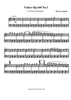 Valzers, Op.160: Valzer No.1 in Si Bemolle Maggiore by Marzia Gaggioli