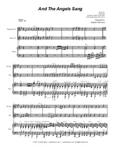 And the Angels Sang: Duet for Bb-Trumpet and French Horn by Felix Mendelssohn-Bartholdy, folklore, Richard Storrs Willis