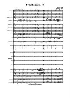Symphony No.40: Symphony No.40 by Jordan Grigg