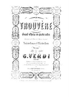 Complete Opera: Piano-vocal score by Giuseppe Verdi
