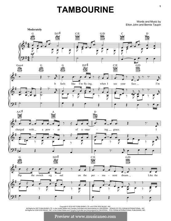Tambourine: Tambourine by Elton John