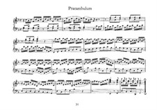Little Prelude in F Major, BWV 927: For harpsichord by Johann Sebastian Bach