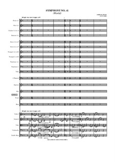 Symphony No.41 (World): Symphony No.41 (World) by Jordan Grigg