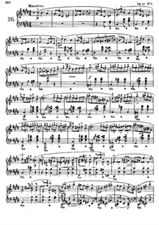 Mazurkas (Collection): No.26-38 by Frédéric Chopin