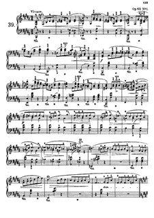 Mazurkas (Collection): No.39-51 by Frédéric Chopin