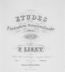 Études d'exécution transcendante, S.139: No.1-5 by Franz Liszt