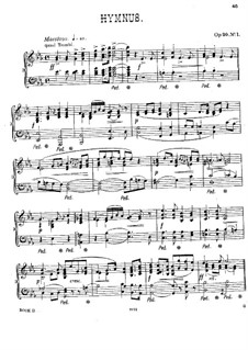 Six Pieces for Piano, Op.20: No.1-3, 5, 6 by Alexander Mackenzie