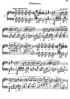 Polonaises (Collection): No.1-5 by Frédéric Chopin