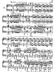 Polonaises (Collection): No.6-10 by Frédéric Chopin
