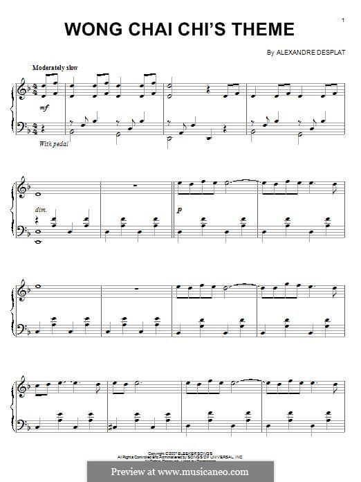 Wong Chia Chi's Theme: Wong Chia Chi's Theme by Alexandre Desplat