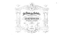 Symphony No.3 in A Minor 'Scottish', Op.56: For piano four hands by Felix Mendelssohn-Bartholdy
