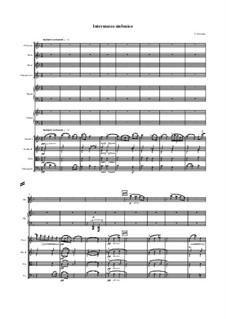 Cavaleria rusticana: Intermezzo – full score by Pietro Mascagni