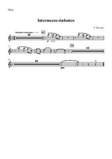 Cavaleria rusticana: Intermezzo – oboe part by Pietro Mascagni
