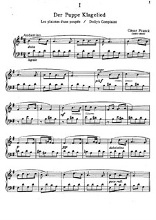 Pieces for Piano: Pieces for Piano by César Franck