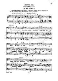 Genoveva, Op.81: Act III. Arrangement for soloists, choir and piano by Robert Schumann