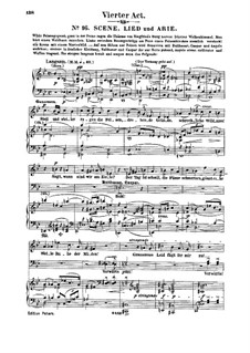 Genoveva, Op.81: Act IV. Arrangement for soloists, choir and piano by Robert Schumann