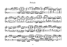 Little Prelude in F Major, BWV 928: For harpsichord by Johann Sebastian Bach